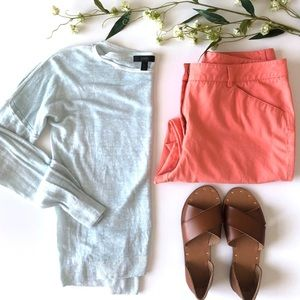 J. Crew Cool-Dyed Linen Sweater